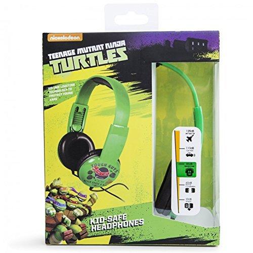 Kids Toddlers TMNT Kid Safe Headphones - Faces For Fat Glasses Men