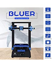 Decdeal 3D Printer DIY Kit Sheet Metal Structure Silent Printing 235 * 235 * 280mm Build Volume High Precision with 3.5 Inch Touchscreen Heated Bed Resume Print Filament Run Out Detection