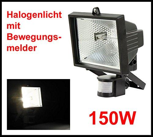 Foco halógeno para exteriores Light Sensor exterior foco LED para jardín linterna luz Sensor de movimiento