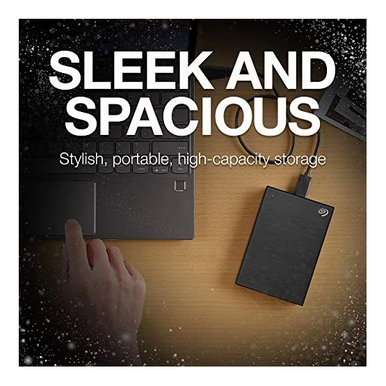 Seagate Backup Plus 5TB External Hard Drive Portable HDD Black USB 3.0, 1 year MylioCreate, 2 Months Adobe CC… 51QmyF1DXGL. SS555