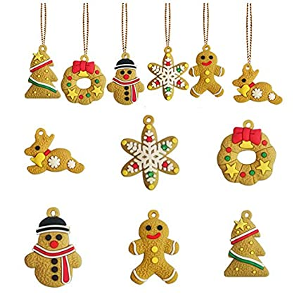 Amazon Com Chqife Christmas Ornaments Set Of Angle