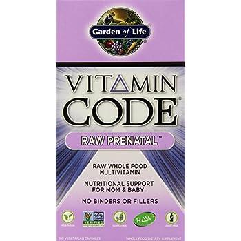 GARDEN OF LIFE VITAMIN CODE RAW PRENATAL 180 Ct (Pack Of 2)