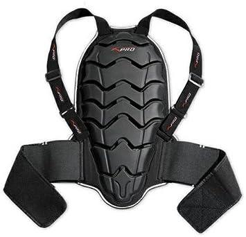 Paraschiena dorsale protezione proteggi schiena per giacca moto scooter omologat