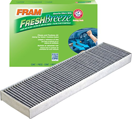 FRAM CF10733 Fresh Breeze Cabin Air Filter with Arm & Hammer