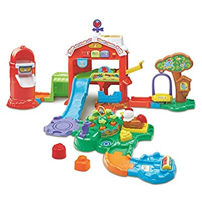 VTech Go! Go! Smart Animals Grow and Learn Farm Playset: Toys & Games