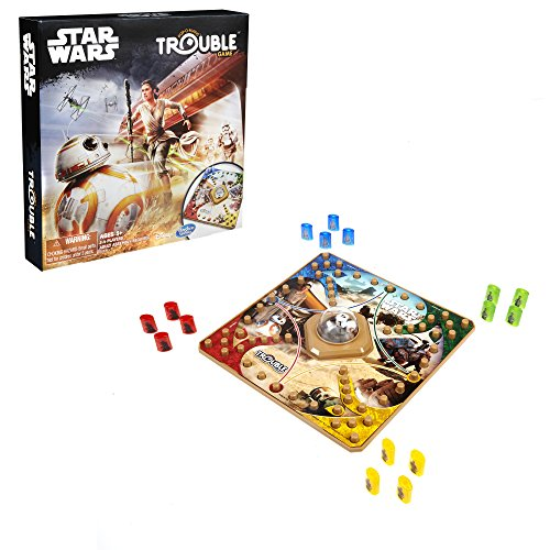 Hasbro Gaming Trouble Game: Star Wars Edition - coolthings.us