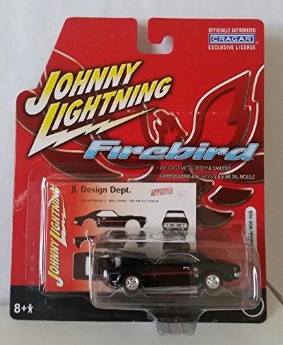 popular Johnny Lightning Firebird 1968 Pontiac Pontiac Pontiac Firebird 400 H.O. 1 64 negro by Johnny Lightning  Envío rápido y el mejor servicio