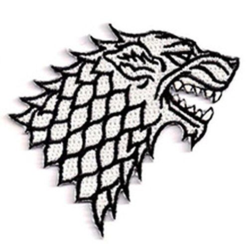 J&C Family Owned Game Of Thrones House Stark Direwolf 3