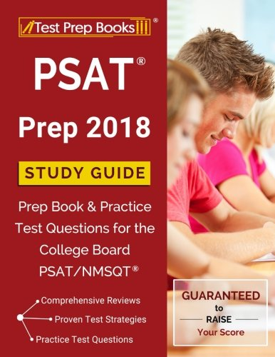 PSAT Prep 2018: Study Guide Prep Book & Practice Test Questions for the College Board PSAT/NMSQT cover