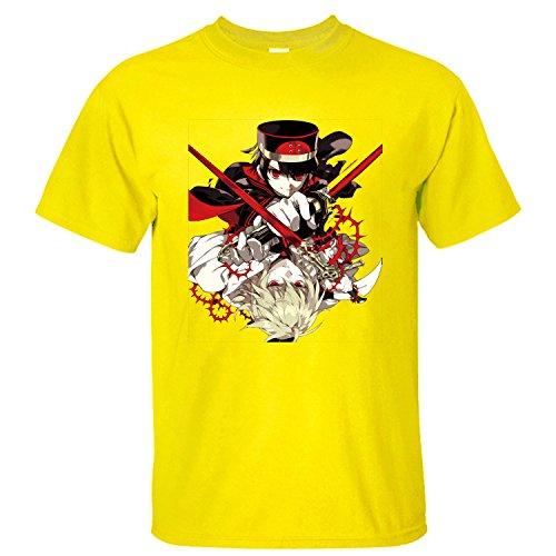 MVYE Men's Owari No Seraph T Shirt Organic Cotton yellow XXL
