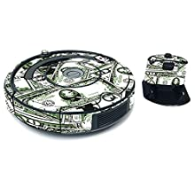 MightySkins Skin for iRobot Roomba 675 Max Coverage - Phat Cash   Protective, Durable, and Unique Vinyl Decal wrap cover   Easy To Apply, Remove, and Change Styles   Made in the USA, IRRO675-Phat Cash