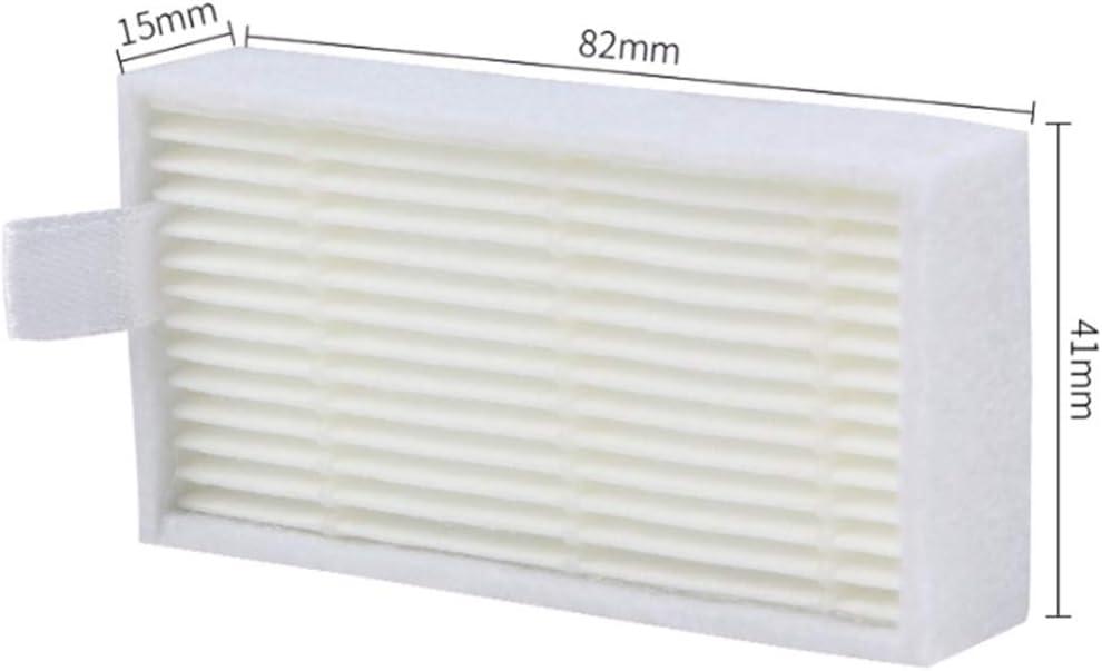 Naliovker 1XPrimary Filter 7X Hepa Filter Efficiente per Ilife V5 V5S V3 V3S V5 PRO V50 V55 X5 Aspirapolvere Robot