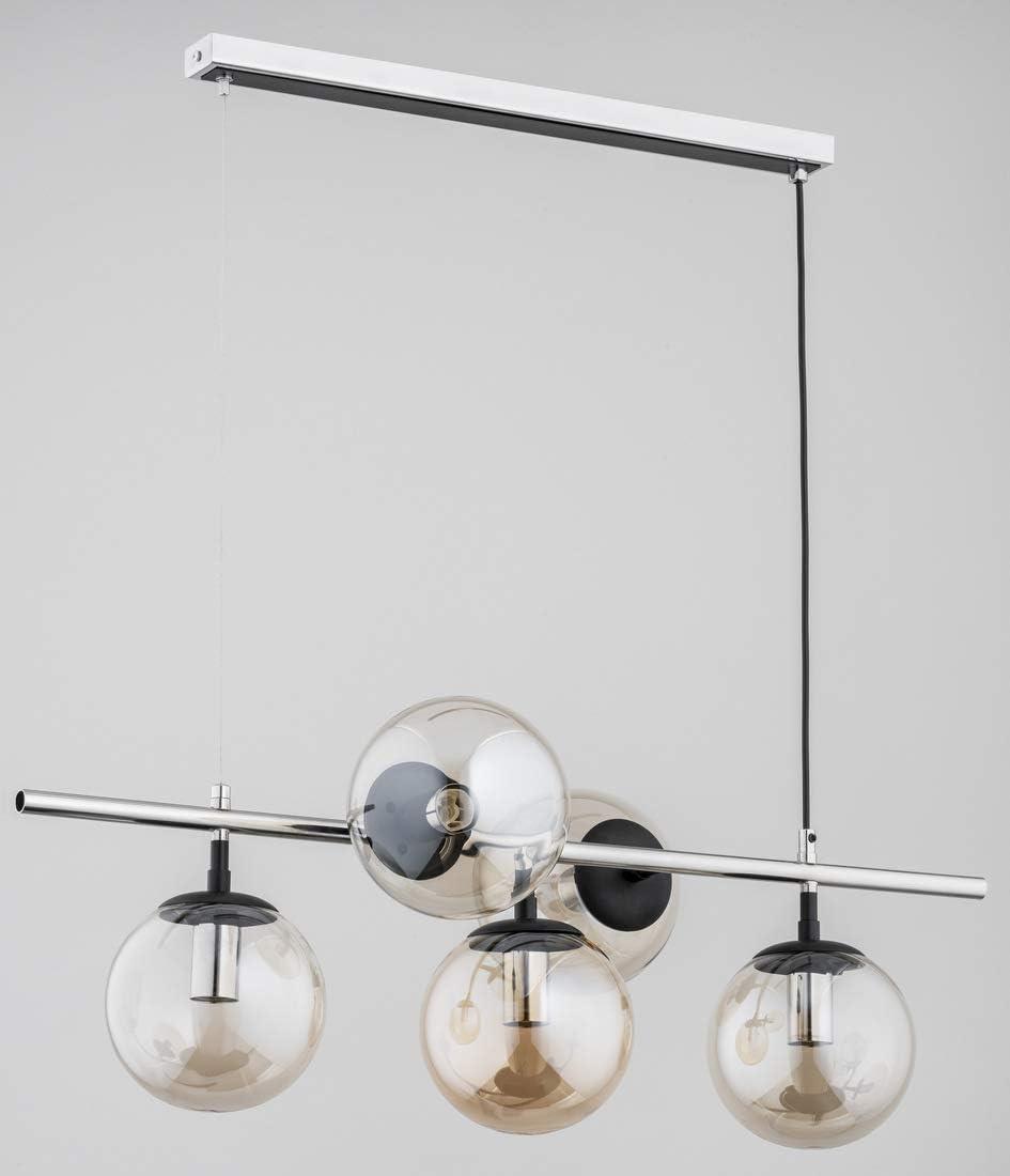 Alfa GINGER 62084 - Lámpara de techo (5 x 40 W, E14)