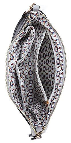 Womens Extra Vegan Shoulder Handbag Bag Clutch Evening Leather Big Shop Wristlet Large Audrey 11 Beige Hepburn Fnpw14