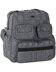 Lug Womens Puddle Jumper Overnight/Gym Duffel Bag, Heather Grey, One Size