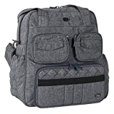 Lug Women's Puddle Jumper Overnight/Gym Duffel Bag, Heather Grey, One Size