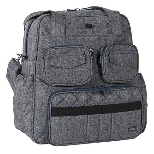 Lug Women's Puddle Jumper Overnight/Gym Duffel Bag, Heather Grey, One Size by Lug