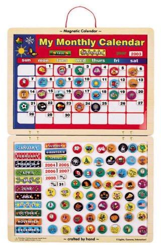 Melissa Doug 133 Magnetic Calendar
