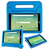 protective lg tablet case - LG G Pad X 8.0 Inch Case,Bolete Shock Proof Super Protective Eva Foam Case Cover With Handle Stand for LG G Pad X 8.0 T-Mobile V521 / AT&T V520 Tablet,Blue