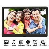 Digital Photo Frame 10 Inch Kenuo 1920x1080 High Resolution 16:9 Full IPS Display