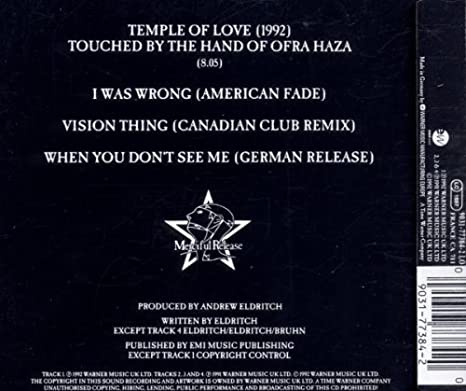sisters of mercy temple of love mp3