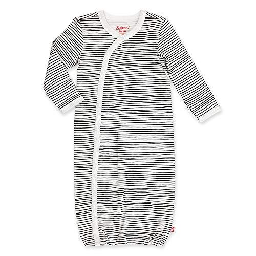 (Zutano Unisex Kimono Gown, Pencil Stripe, One Size (0-6 Months))