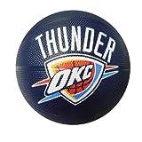 Spalding NBA Oklahoma City Thunder Mini Rubber Basketball