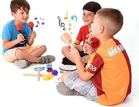 toys, games, learning, education, musical instruments,  drums, percussion 6 picture Toddler Educational & Musical Percussion for Kids & Children Instruments in USA