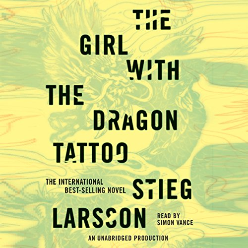 The Girl with the Dragon Tattoo: The Millennium Series, Book 1 cover