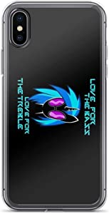 iPhone 7 Case iPhone 8 Case Cases Clear Anti-Scratch Love for The Bass, MLP Cover Case for iPhone 7/iPhone 8, Crystal Clear