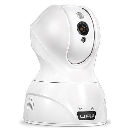 LiFu - Cámara inalámbrica HD 1280x 720p Mini Wifi IP