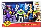 Disney Pixar Toy Story Heroes & Villain Gift Pack Talking Zurg Buzz Lightyear & Woody