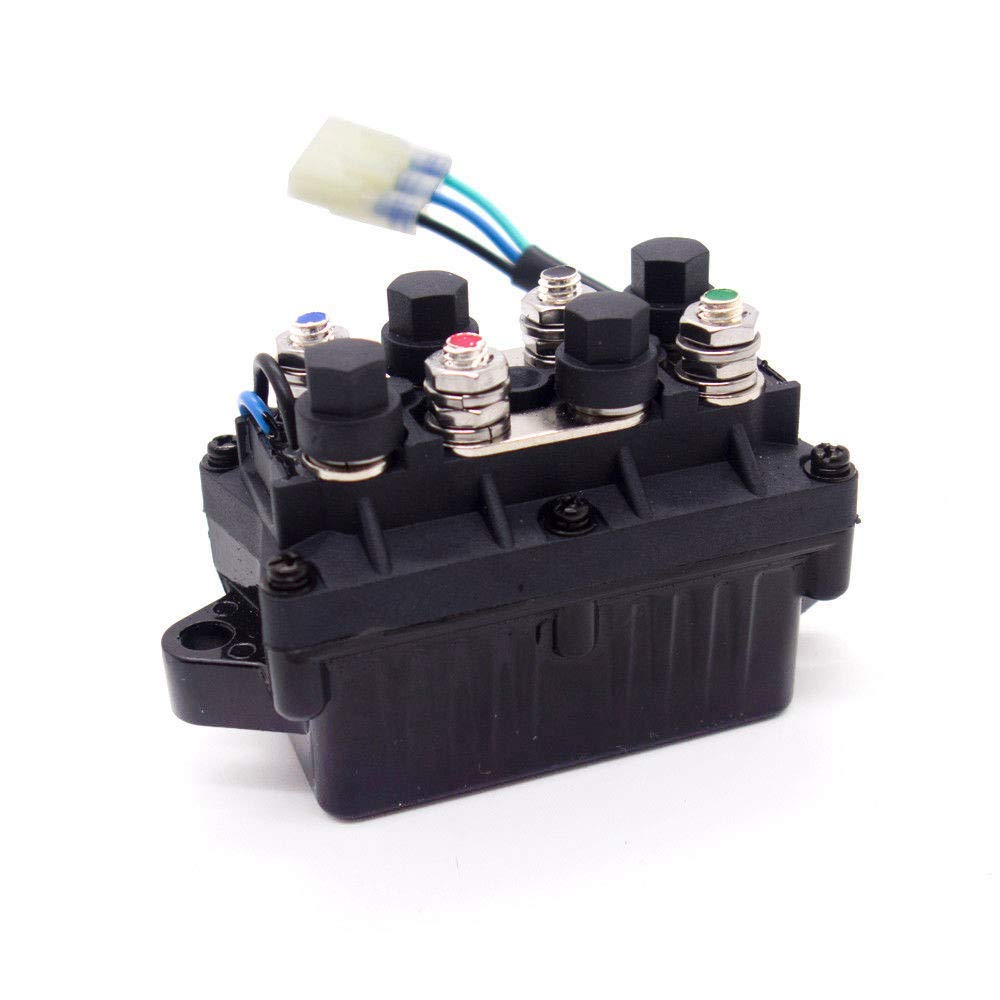 Universal ATV Winch Solenoid Switch Relay Assembly for Arctic Cat 0409-066 6639-894 1436-066 1436-805 0436-700 1436-187