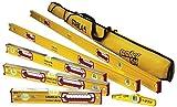 Stabila 196 Level Set Kit - 78''/48''/32''/24''/16'' Torpedo & Case