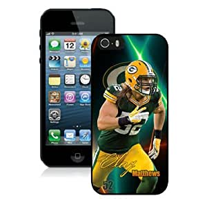 WOW Sports Green Bay Packers Clay Matthews NFL Iphone 5/5S Hard Case for Sport Fans, NFL Team Iphone 5, 5S Covers