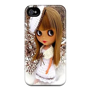 Durable Case For The Iphone 4/4s- Eco-friendly Retail Packaging(doll In Snow)