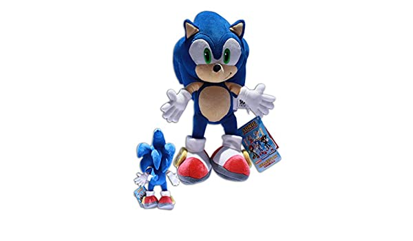 Amazon.com: Sonic the Hedgehog 12 Plush Doll Sonic X Video Game Blue Soft Toy Powerful Super Quality: Toys & Games