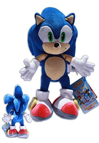 "SONIC THE HEDGEHOG officiel 12/"" Sega Sonic Soft Plush Toy BRAND NEW"