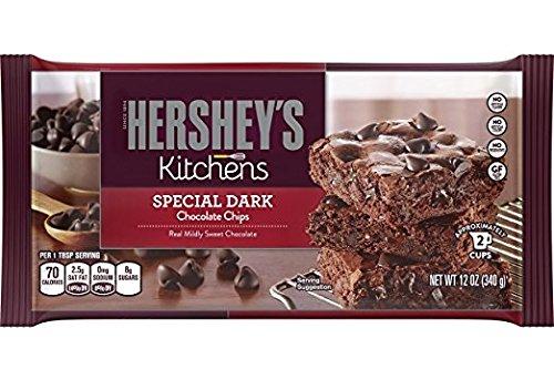 Hershey's Kitchens Special Dark Chocolate Baking Chips 12 oz. (Pack of 3) - Hershey Dark Chocolate Chips