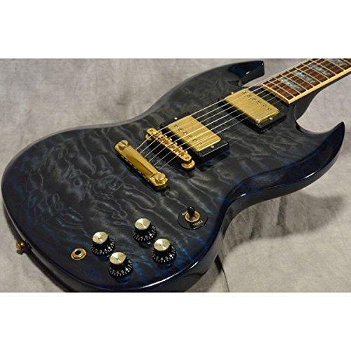 Gibson Custom/SG Elegant Quilt Top Blue Burst B07F6V8VS1