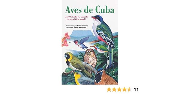 Aves de Cuba: Field Guide to the Birds of Cuba, Spanish-Language Edition Naturaleza/Guias de Campo: Amazon.es: Garrido, Orlando H., Kirkconnell, Arturo, Company, Roman F., Fitzpatrick, John W.: Libros en idiomas extranjeros