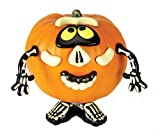Paper Magic Group Spooky Home Decor, Pumpkin Push-In, Mr. Potato Head Skeleton