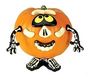 Paper Magic Group Spooky Home Decor, Pumpkin Push-In, Mr. Potato Head Skeleton