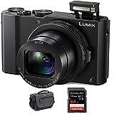 Panasonic LUMIX DMC-LX10K Digitral Camera with 64GB SD Card and...