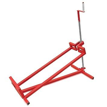 Para Segadora 400 kg tráctor Jardín Paleta Tractor Remolque Lavado ayuda, rojo: Amazon.es: Jardín