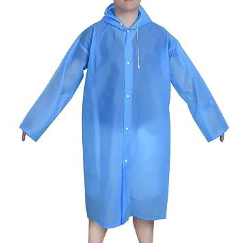 Amazon.com : Mudder Portable Raincoat Rain Poncho with Hoods and ...
