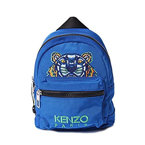(ケンゾー) Kenzo ミニリュック バックパック Cobalt コバルトブルー Mini Tiger Backpack 5SF301 F20 70 [並行輸入品]   B07R5LPPMP