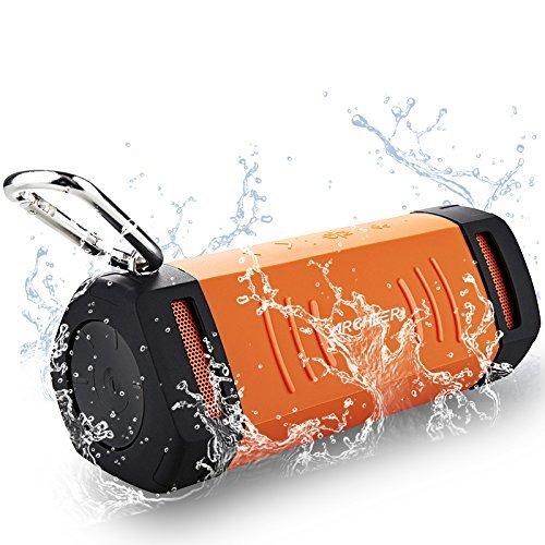 Archeer Altavoz Bluetooth Altavoz Portátil Exterior Resistente al Agua, a Prueba de Polvo, Anti-arañazos, a Prueba de Golpes Amplificador, 1500mAh...