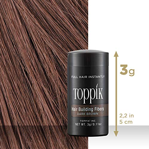 Toppik - Fibras Capilares - Mini (3g) - Color Castaño Medio