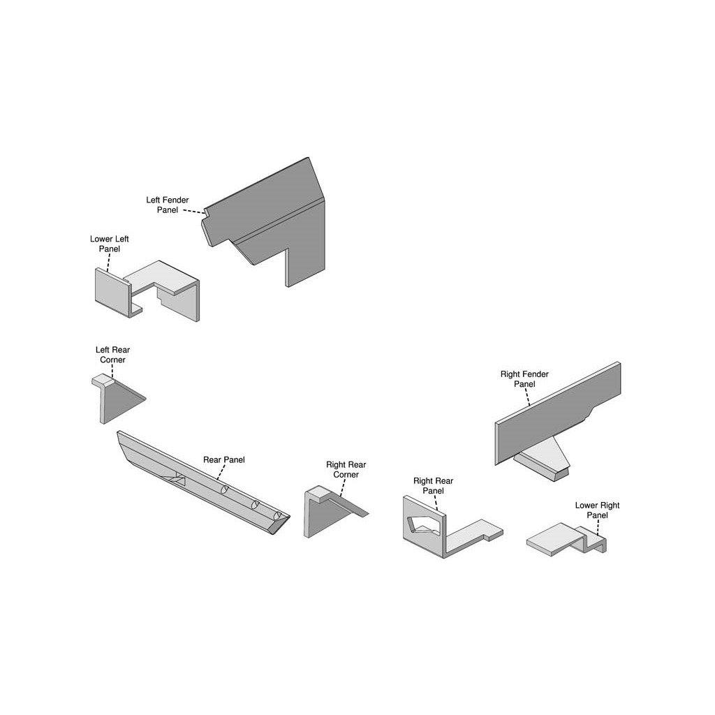 John Deere 55 Utility Series Lower Cab Kit 2155 2355 Wiring Diagram Free Picture 2555 2755 2955 3055 3 Industrial Scientific